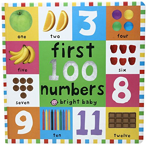First 100 Board Books First 100 Numbers por Roger Priddy