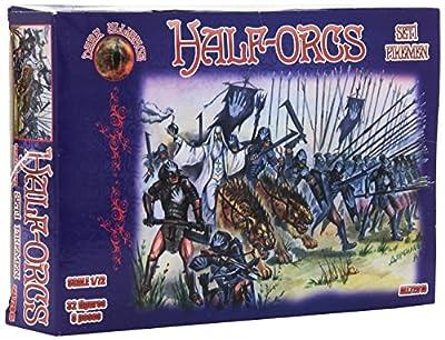 Alliance ALL72015 - Modellbausatz Half-Orcs pikemen, 1-er Set von Alliance