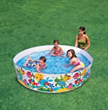Enlarge toy image: John Adams 6 Ft Ocean Play Snapset Pool -  preschool activity for young kids