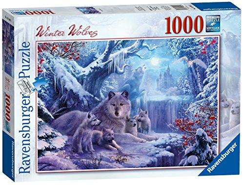 Ravensburger Italy 19596 - Puzzle L'Inverno dei Lupi, 1000 Pezzi