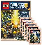Blue Ocean - LEGO Nexo Knights Sammelalbum + 5 Booster Packungen Sammelsticker 25 Sticker - Deutsche Ausgabe