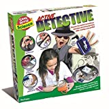 Solve The Mystery Be An Active Detective - World Of Imagination Set Secret Agent - Fun Spy Gift Present Idea For Stocking Fillers, Christmas Xmas Age 8+ Girls Boys Kids Children