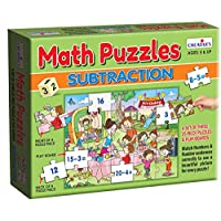 Creative's Math Puzzle - Subtraction 0276