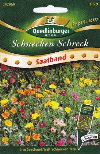 Hausmittel gegen Schnecken Saatband Pflanzen die Nacktschnecken nicht fressen mögen