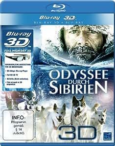 Odyssee durch Sibirien 3D (3D Version inkl. 2D Version & 3D Lenticular Card) [3D Blu-ray]