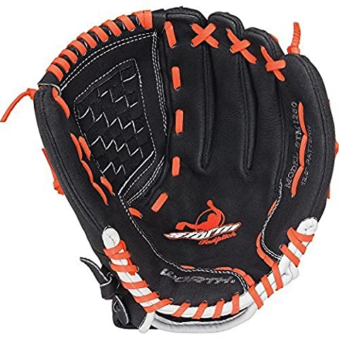 Worth Storm 12,5 inch Fastpitch Softball Glove for Left Handed Thrower (Infielders Glove)