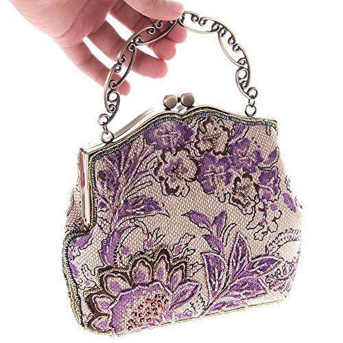 Eysee, Borsa tote donna viola Green 21cm*17cm*6cm Purple