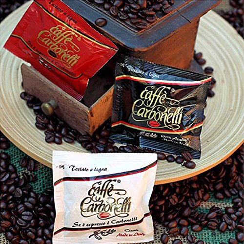Kaffee ESE Pads Probierpaket Ristretto, Arabica, Italienischen Espresso (45 Pads)