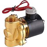 """220V DN15 1/2""""magneetventiel elektrische waterklep normaal gesloten klep elektromagnetische klep voor water olie lucht gas vo"""
