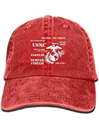 Desing shop Semper Fi US Marine Corps Unisex Adult Adjustable Baseball Dad  Hat 65ad4883bf87