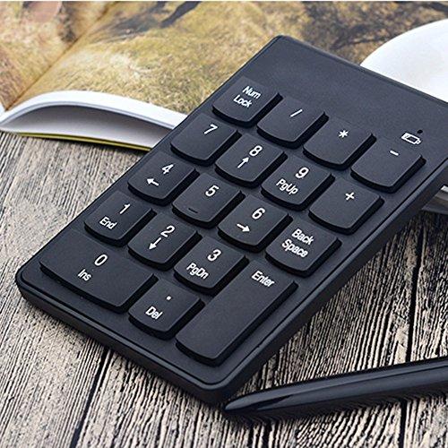Generic Wireless Numeric Chocolate Keyboard Ergonomics Bluetooth 3.0 ABS Plastic Key Keyboard Plug-and-play For Laptop Desktop