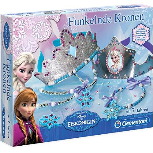 Disney Frozen die Eiskönigin - Funkelnde Kronen, Haarreife, Glitzer, Schmucksteine: Kinder Mode (Disney Krone Frozen)