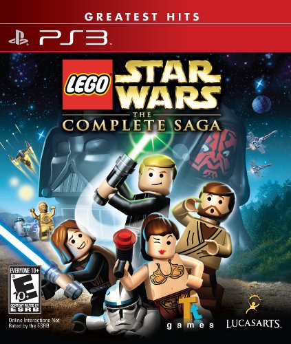 Lego Star Wars The Complete Saga Game PS3