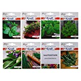 #8: Variety Herb Seeds Combo (Pack of 8) by Kraft Seeds