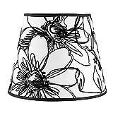 Splink Lampenschirme Stoff handgefertigt Blume Leuchtenschirme für Kerze, Wandlampe, Tisch Lampe und Pedelleuchte