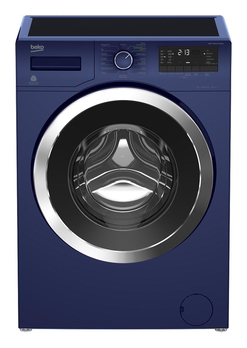 Beko-WMY-71433-PTE-Blue-Waschmaschine-A-171-kWh-1400-UpM-7-kg-Watersafe-Pet-Hair-Removal-Mengenautomatik-BabyProtect-Multifunktionsdisplay-XL-Chromtr-mit-34-cm-Einfllffnung-15-Programme-Aquafusion-opt