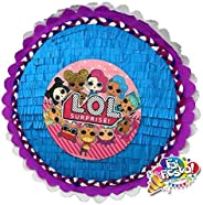 Pignatta LOL surprise Dolls. Pentolaccia, piñata. Gioco divertente e immacabile per le feste di compleanno di