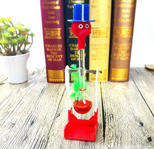 Spielzeug Vogel Trinken (ulooie Creative lucky Trinkvogel Liquid Glas Retro Spielzeug Home Office Schreibtisch)