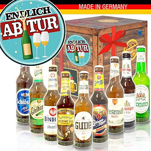 Endlich Abitur - Deutsche Bier Box - abitur abschluss Geschenk