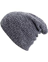 OUTERDO chapeau chapeau d'hiver tricot beanie hat Ski bonnet hommes femmes