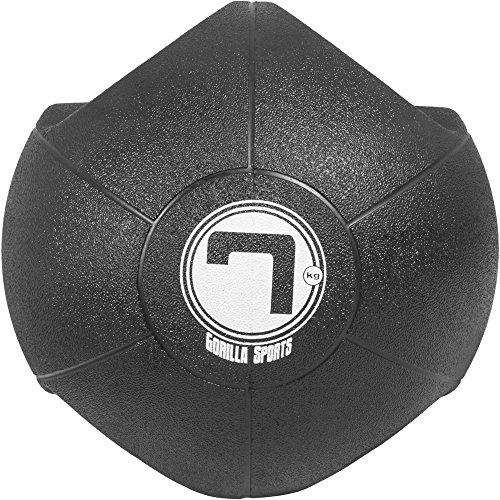 Medizinball mit Griffen Gymnastikball Fitnessball Gewichtsball 3-10 KG 7 kg