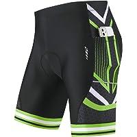 BALEAF Men's Cycling Shorts 4D Padded Bicycle Riding Bike Pants Pockets UPF50+ Road Bike Cycle Shorts