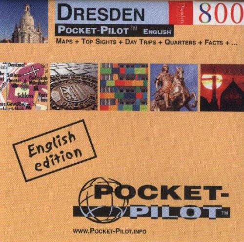 Pocket-Pilot Dresden: Einzelkarten: Zentrum, Großraum & Region - Öffentliche Verkehrsmittel - Sehenswürdigkeiten - Ausflüge - Wissenswertes - Klima - ... und vieles mehr. Englische Ausgabe