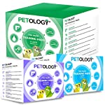 PETOLOGY® 100 Count, 60 cm x 60 cm Large Size Training Pads Puppy Dog Cat Super Absorbent Odourless Pads Pee Toilet House Training (Size: Large 60cmx60cm 100 Pads)