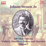 Strauss II, J.: 100 Most Famous Works, Vol. 7