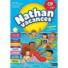 Cahier de Vacances 2018 du CP vers le CE1 - Nathan Vacances - 6/7 ANS