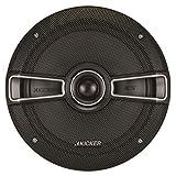 Kicker 41ksc654 6.5 Inch Coaxial 2-Way Speakers Black