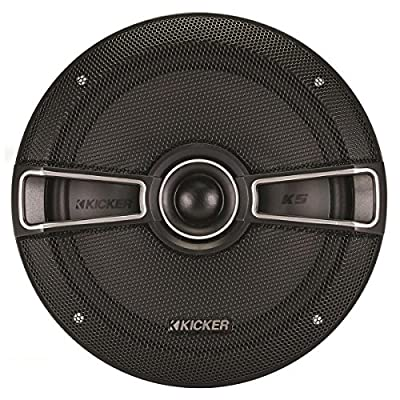 Kicker 41ksc654 6.5 Inch Coaxial 2-Way Speakers Black