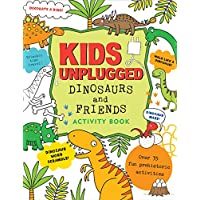 Kids Unplugged Dinosaurs & Friends Activity Book