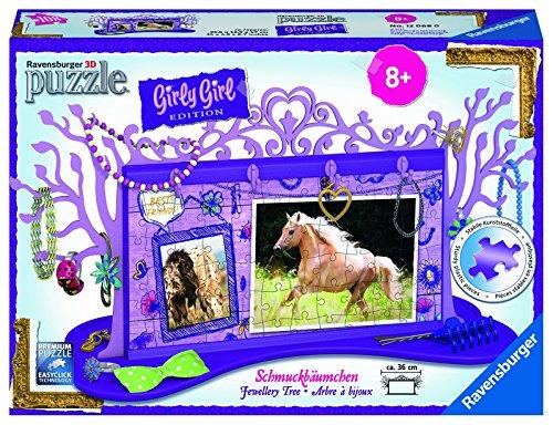 Ravensburger-12068-Girly-Girl-Edition-Schmuckbumchen-Pferde-3D-Puzzle