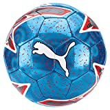 Puma One Laser, Pallone da Calcio Unisex-Adulto, Blu (Blue Azur/Red Blast White), 5