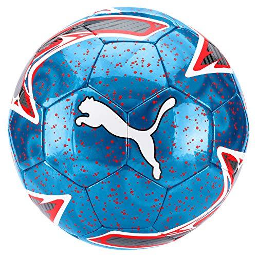 Fußball, Bleu Azur-Red Blast White, 5 ()