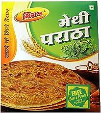 Miraj s Ready to eat Methi Paratha Combo Pack, 4x4 Pcs