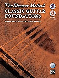 The Shearer Method: Classic Guitar Foundations (Book & DVD) by Aaron Shearer (2012-12-07)