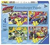 Ravensburger Disney Mickey et Roadster Racers 4 en boîte (12, 16, 20, 24 pièces)