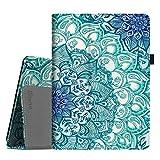 Fintie Huawei MediaPad T3 10 Cover - Slim Fit Folio Custodia Protettiva Case in Pelle PU per Huawei MediaPad T3 10 (9.6 pollici) Tablet, Emerald Illusions