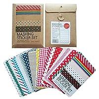 Vous pouvez couper la taille que vous voulez, idéal pour les différentes tailles de DIY. Différentes belles couleurs de base dans un ensemble.Le paquet inclut: 1 x Kit de scrapbooking papier adhésifRemarquez s'il vous plaît:1> niceeshop (TM) est l...
