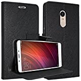 Xioami redmi Note 5 2018 New 64gb Black Flip cover (Ultra Compact with Stand, Credit Card Slots & Wallet)