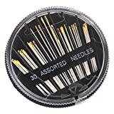 #5: Generic Imported 30Pcs Assorted Hand Sewing Needles Embroidery Mending Craft Quilting
