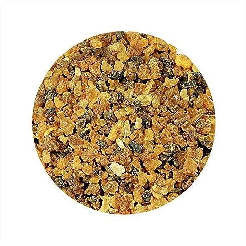 Myrrhe pur coton Résine Encens Encens Église qualité, marron, 100 Gramm