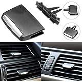 Clip per Bocchetta di Ventilazione in plastica Nero Faderr Taglia Libera per BMW E90//E91//E92//E93 2006-2013 Facile da installare