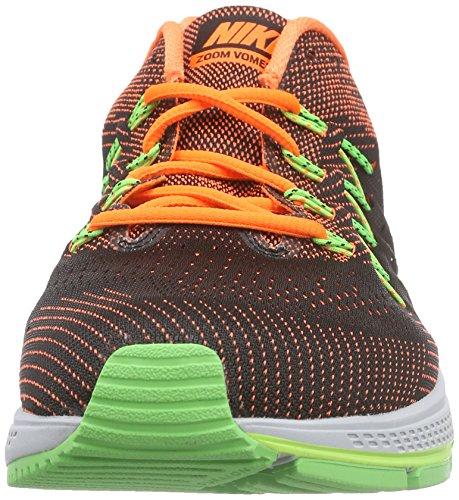 Nike - Air Zoom Vomero 10, Scarpe da corsa Uomo Nero/Arancione