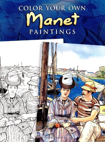 Color Your Own Manet Paintings