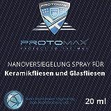 PROTOMAX Nanoversiegelung-Spray für Keramikfliesen und Glasfliesen im Badezimmer (20 ml)