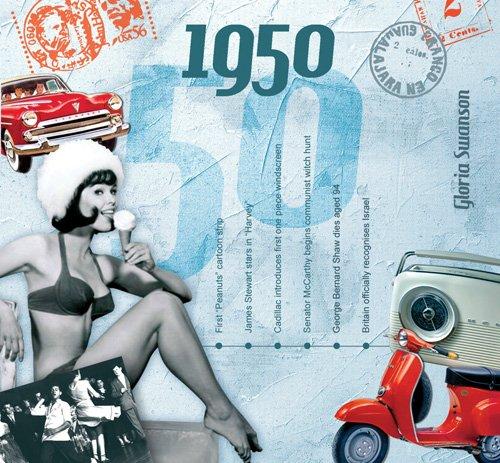 1950 Geburtstag Geschenken - 1950 Chart Hits CD und 1950 Geburtstagskarte