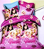 Amk Home Décor Barbie Kids Cotton Dou...